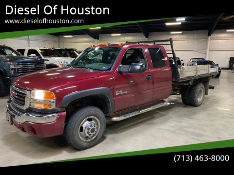 2004 GMC Sierra 3500 for sale at Diesel Of Houston in Houston TX