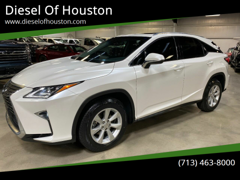 2016 Lexus RX 350 for sale at Diesel Of Houston in Houston TX