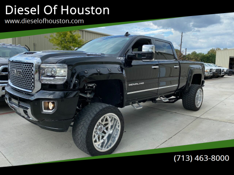 2015 GMC Sierra 2500HD for sale at Diesel Of Houston in Houston TX