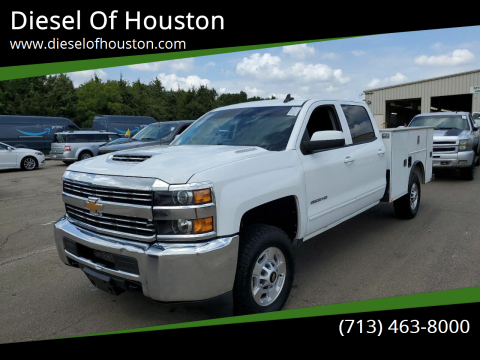 2018 Chevrolet Silverado 2500HD for sale at Diesel Of Houston in Houston TX