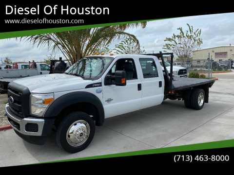 2015 Ford F-550 Super Duty for sale at Diesel Of Houston in Houston TX