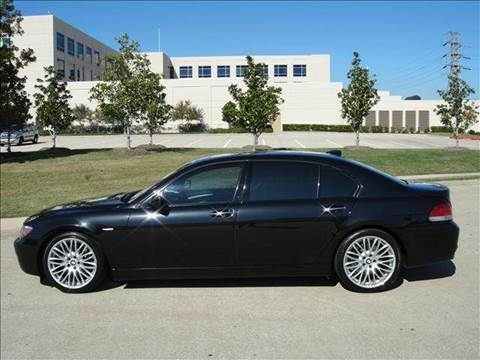 2007 BMW 7 Series for sale at Diesel Of Houston in Houston TX