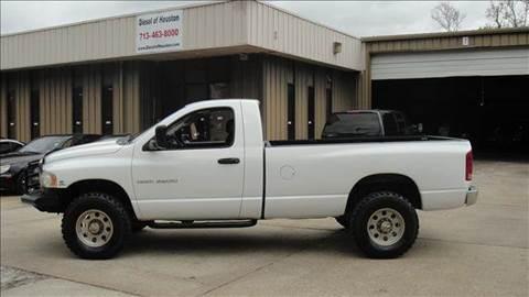 2003 Dodge Ram Pickup 2500 for sale at Diesel Of Houston in Houston TX