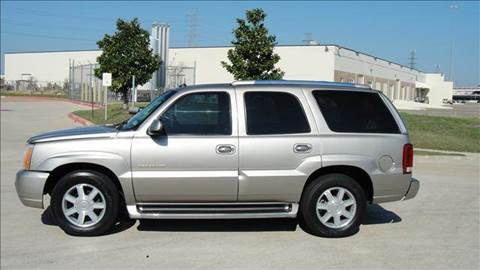2003 Cadillac Escalade for sale at Diesel Of Houston in Houston TX