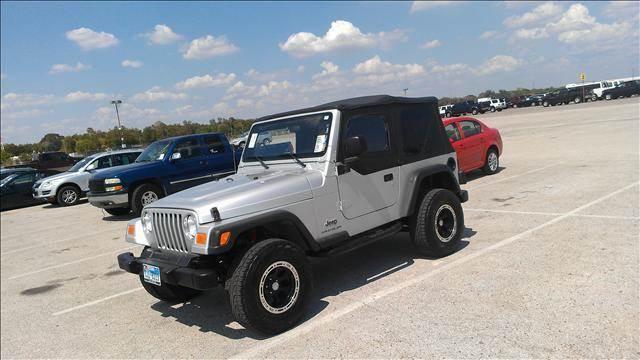 2003 Jeep Wrangler for sale at Diesel Of Houston in Houston TX
