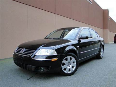 2001 Volkswagen Passat for sale at Diesel Of Houston in Houston TX