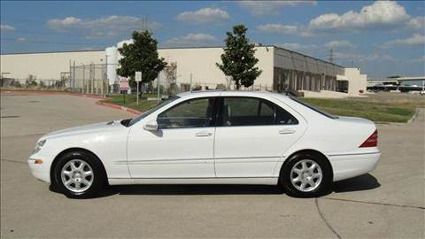 2001 Mercedes-Benz S-Class for sale at Diesel Of Houston in Houston TX