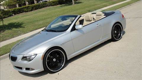2008 BMW 6 Series for sale at Diesel Of Houston in Houston TX