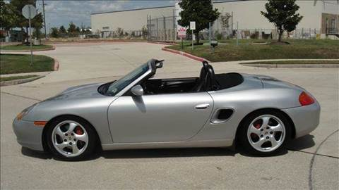 2001 Porsche Boxster for sale at Diesel Of Houston in Houston TX