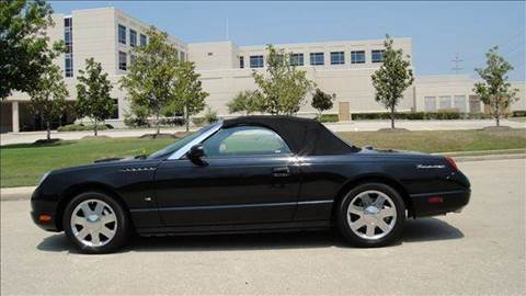 2003 Ford Thunderbird for sale at Diesel Of Houston in Houston TX