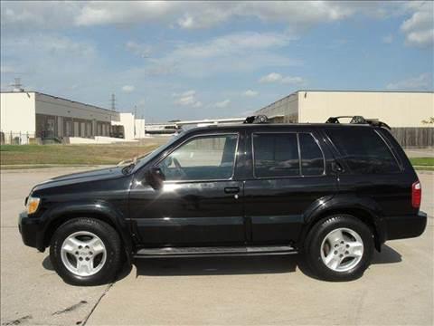 2001 Infiniti QX4 for sale at Diesel Of Houston in Houston TX