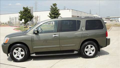 2004 Nissan Armada for sale at Diesel Of Houston in Houston TX