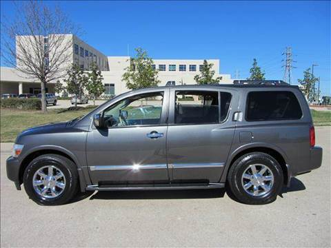 2005 Infiniti QX56 for sale at Diesel Of Houston in Houston TX