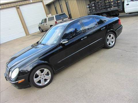 2003 Mercedes-Benz E-Class for sale at Diesel Of Houston in Houston TX