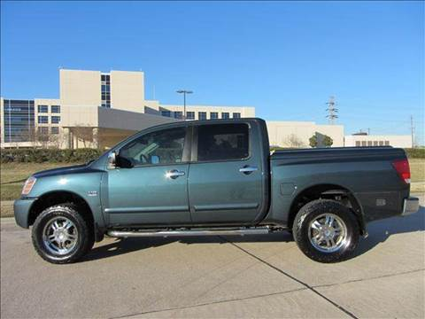 2004 Nissan Titan for sale at Diesel Of Houston in Houston TX
