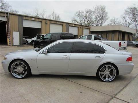 2003 BMW 7 Series for sale at Diesel Of Houston in Houston TX