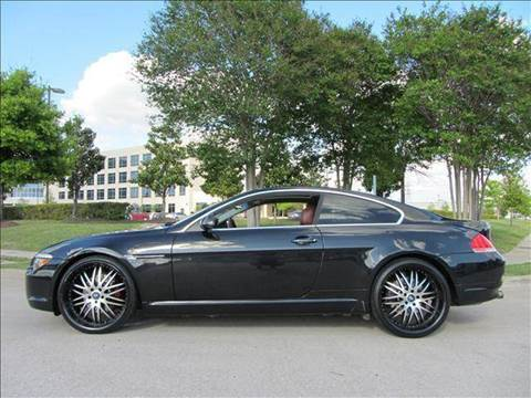 2004 BMW 6 Series for sale at Diesel Of Houston in Houston TX