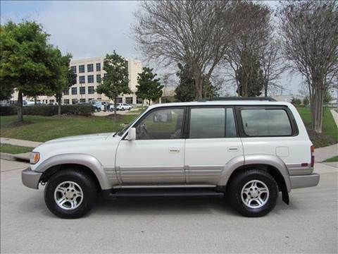 1996 Lexus LX 450 for sale at Diesel Of Houston in Houston TX