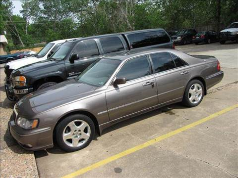 2001 Infiniti Q45 for sale at Diesel Of Houston in Houston TX