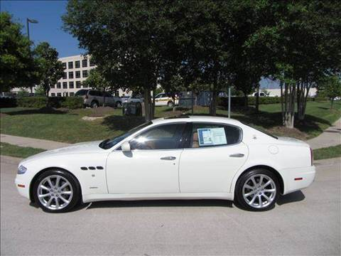 2005 Maserati Quattroporte for sale at Diesel Of Houston in Houston TX