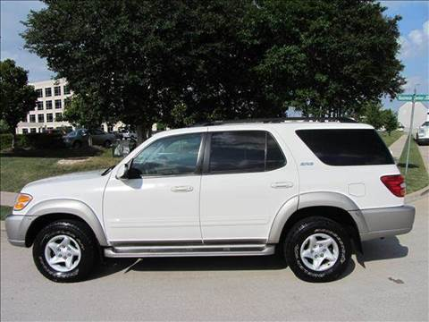 2002 Toyota Sequoia for sale at Diesel Of Houston in Houston TX