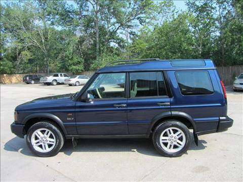 2003 Land Rover Discovery for sale at Diesel Of Houston in Houston TX