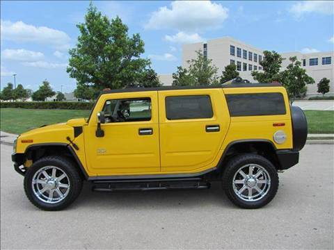 2003 HUMMER H2 for sale at Diesel Of Houston in Houston TX
