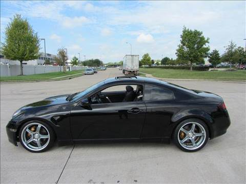 2003 Infiniti G35 for sale at Diesel Of Houston in Houston TX