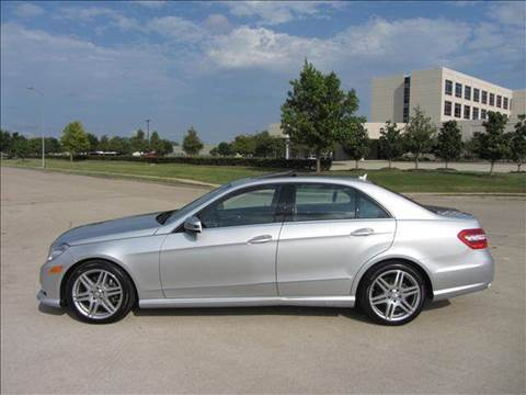2010 Mercedes-Benz E-Class for sale at Diesel Of Houston in Houston TX