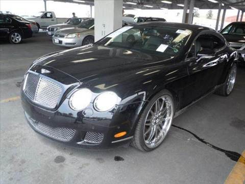 2008 Bentley Continental for sale at Diesel Of Houston in Houston TX