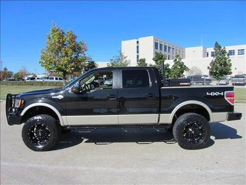 Ford F  King Ranch Lifted X