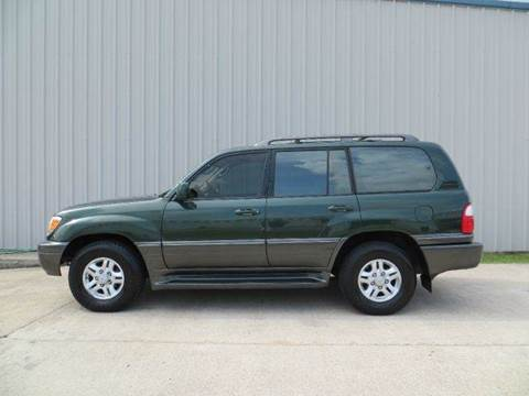 1998 Lexus LX 470 for sale at Diesel Of Houston in Houston TX