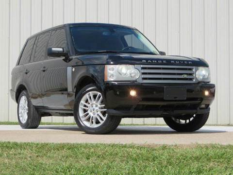 2008 Land Rover Range Rover for sale at Diesel Of Houston in Houston TX