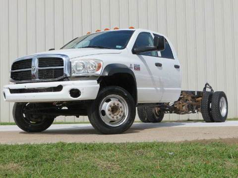 2008 Dodge 4500 for sale at Diesel Of Houston in Houston TX