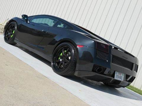 Lamborghini Gallardo For Sale In Houston Tx Diesel Of Houston