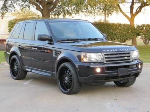 2008 Land Rover Range Rover Sport for sale at Diesel Of Houston in Houston TX