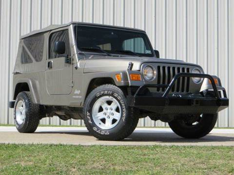 2006 Jeep Wrangler for sale at Diesel Of Houston in Houston TX