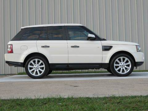 2010 Land Rover Range Rover Sport for sale at Diesel Of Houston in Houston TX