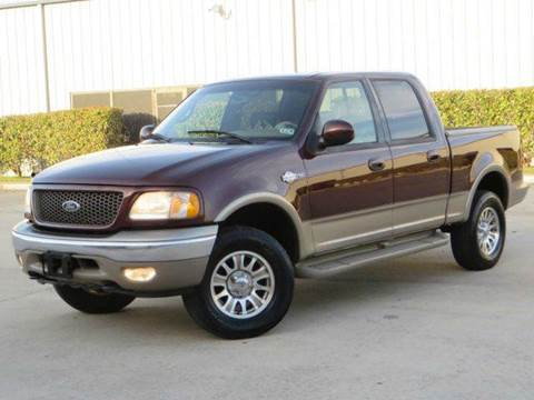 2001 Ford F-150 for sale at Diesel Of Houston in Houston TX