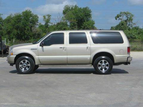 2004 Ford Excursion for sale at Diesel Of Houston in Houston TX