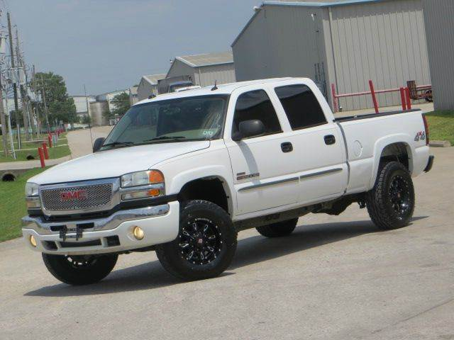 2004 gmc sierra 2500 slt duramax allison 4x4 leather in. Black Bedroom Furniture Sets. Home Design Ideas