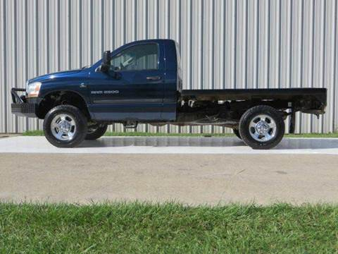 2006 Dodge Ram Pickup 2500 for sale at Diesel Of Houston in Houston TX