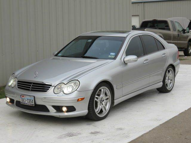 2005 mercedes benz c class c55 amg 1 owner in houston tx for Mercedes benz in houston tx