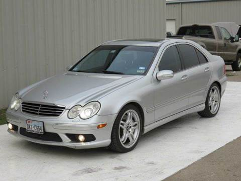 2005 Mercedes-Benz C-Class for sale at Diesel Of Houston in Houston TX
