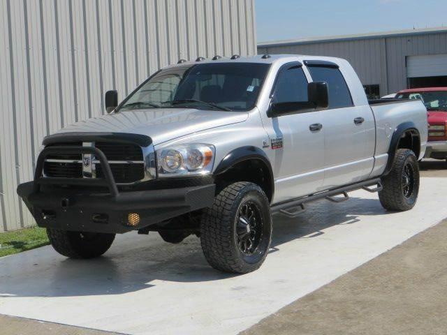 2008 dodge ram pickup 2500 sxt mega 4x4 cummins 6 7 6spd auto lift wheels in houston tx diesel. Black Bedroom Furniture Sets. Home Design Ideas