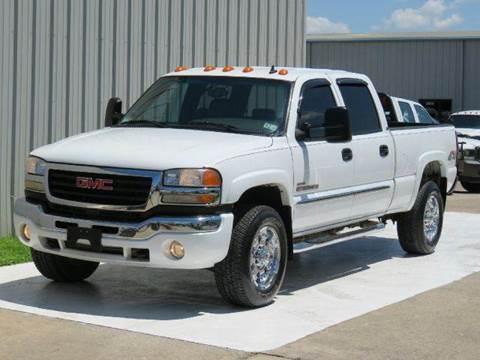 2007 GMC Sierra 2500HD Classic for sale at Diesel Of Houston in Houston TX