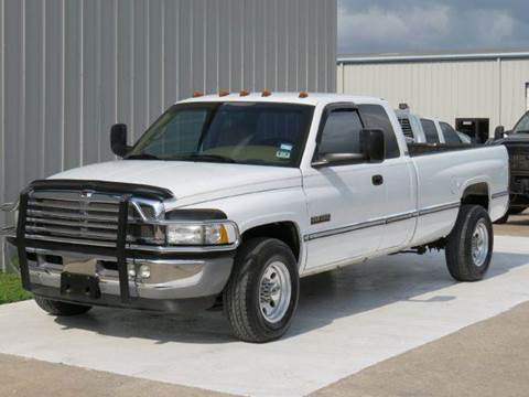 2001 Dodge Ram Pickup 2500 for sale at Diesel Of Houston in Houston TX