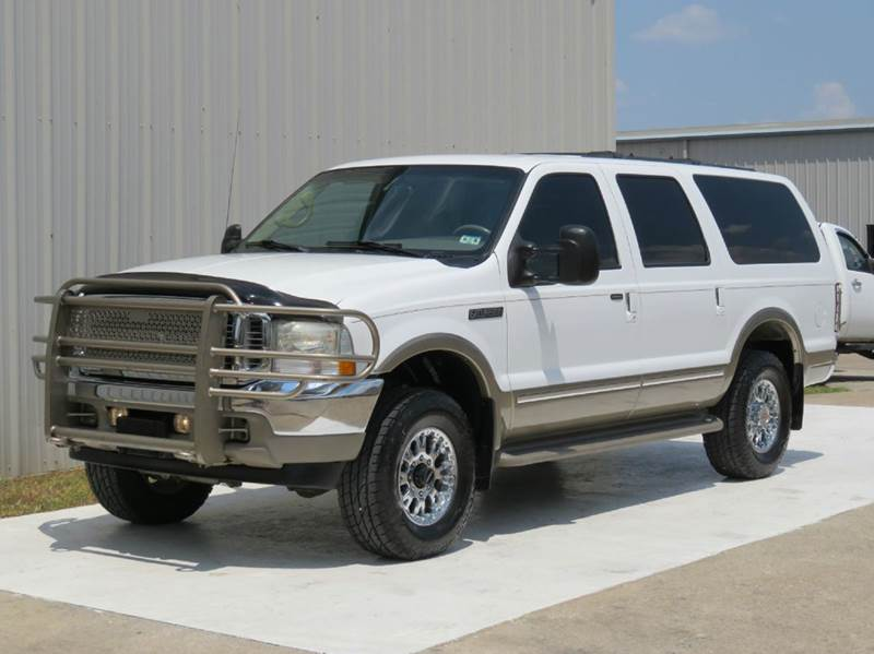 Ford Excursion Limited WD L POWERSTROKE DIESEL TV - 2002 excursion