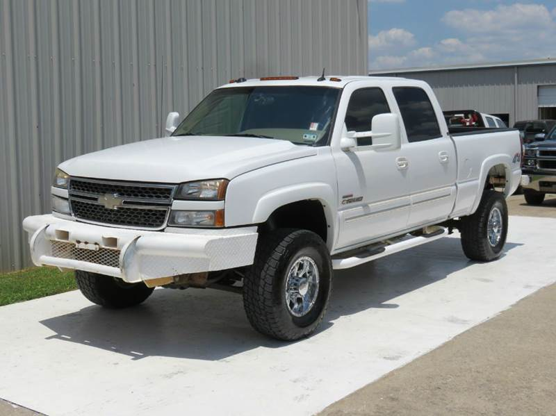 2005 chevrolet silverado 2500hd ls crew swb 6 6 duramax allison wheels bumpers 3 owners texas. Black Bedroom Furniture Sets. Home Design Ideas