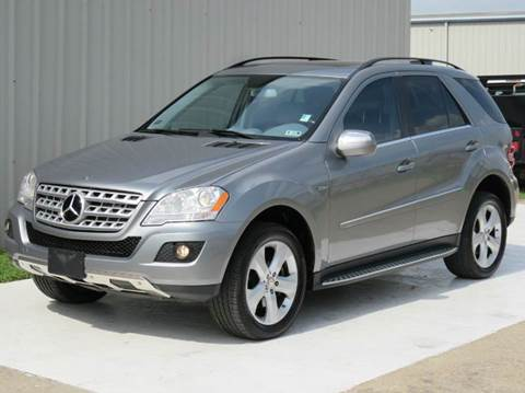 2010 Mercedes-Benz M-Class for sale at Diesel Of Houston in Houston TX